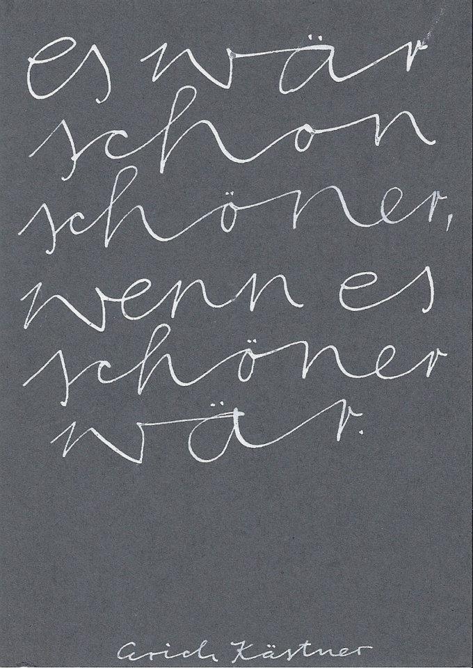 Schoo Schöö, Der Irrealis – Deutschmeisterei.De