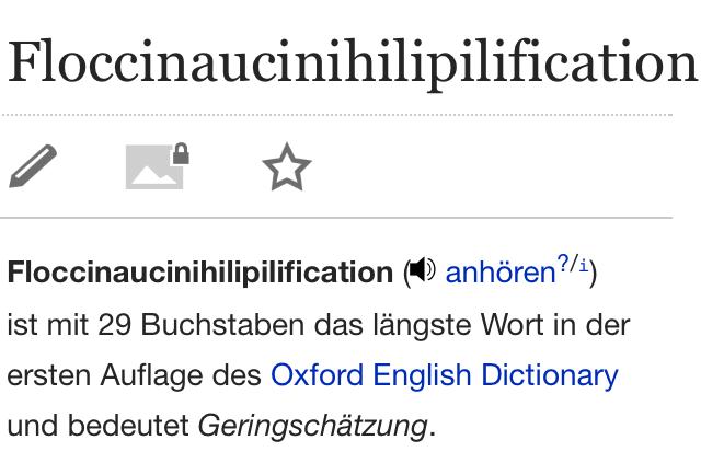 Längste Englische Wort